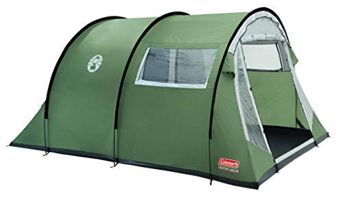 Coleman Zelt Coastline 4 Deluxe, 4 Mann Zelt, 4 Personen Tunnelzelt, Campingzelt, Familienzelt mit...