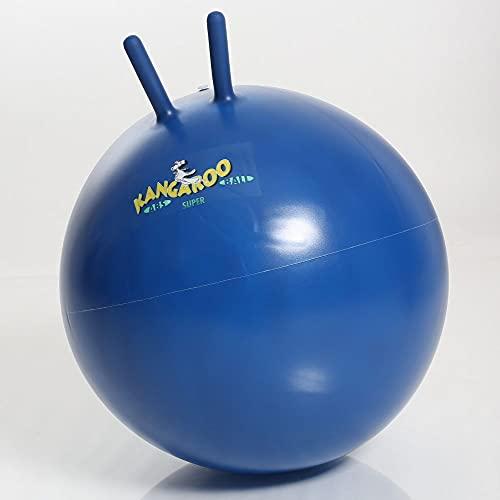 Togu Kangaroo Ball ABS Sprungball platzsicher, blaulila, 60 cm