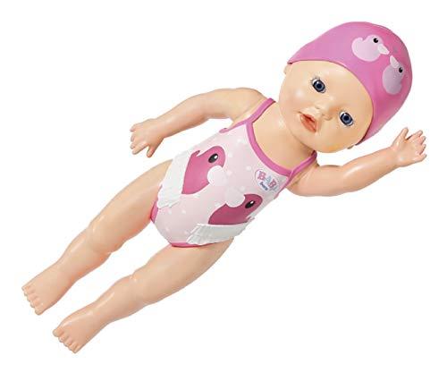 Zapf Creation 831915 BABY born My First Swim Girl 30 cm große wasserfeste Aufziehpuppe für die...