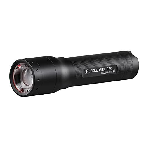 Ledlenser P7R LED Taschenlampe, fokussierbar, wiederaufladbar, mit Akku, 1000 Lumen, 210 Meter...