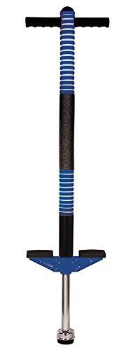 VEDES Großhandel GmbH - Ware 73007097 New Sports Pogo Stick blau/schwarz, Höhe 95cm