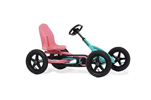 Berg Pedal Gokart Buddy Lua | Kinderfahrzeug, Tretauto mit Optimale Sicherheid, Luftreifen und Freilauf,...