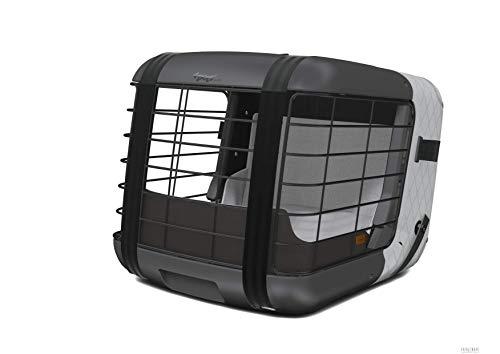 4pets Caree - Autotransportbox für Hunde (Cool Grey)