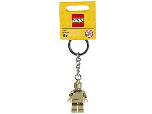 LEGO - Schlüsselanhänger Minifigur, gold (850807)