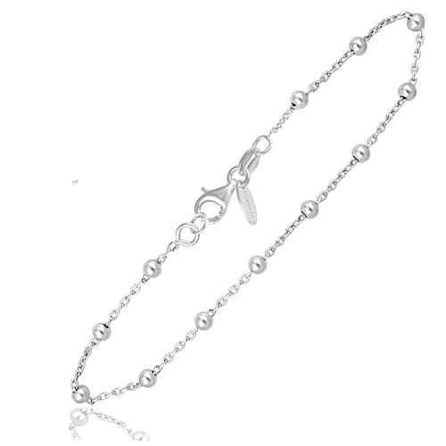 Subalian Damen Armbänder 925 Silber - Dieses modische Armband kommt mit Einer Box verwendet als...