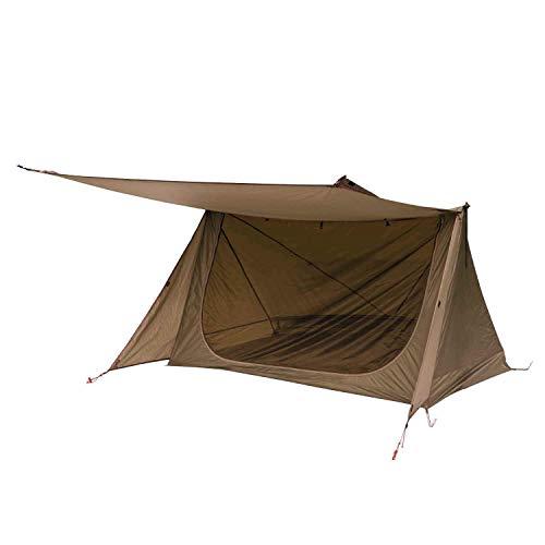 OneTigris Zelt für 1 - 2 Personen Backwoods Bungalow 2,0 Camping Zelt leichtes Wurfzelt Wasserdicht 4...