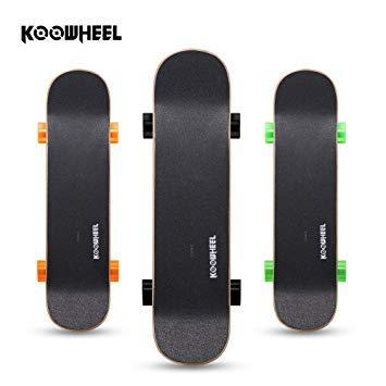 KOOWHEEL Elektro-Skateboard Double Rocker D3S Dual Brushless Hub Motor mit Fernbedienung 20 km/h in...