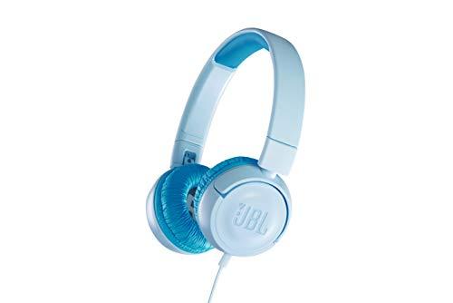 JBL JR300 Kinder-Kopfhörer - Kabelgebundene On-Ear Kopfhörer mit Lautstärkebegrenzung - Speziell...