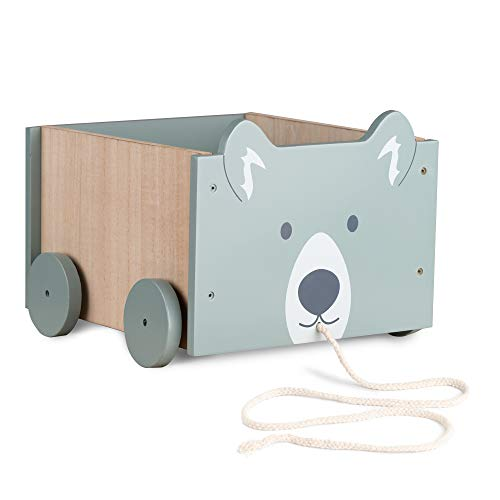 Navaris Spielzeugkiste Kiste Aufbewahrung für Spielzeug - Aufbewahrungsbox für Kinderzimmer -...