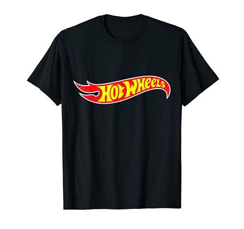 Herren Hot Wheels T-Shirt, Logo, viele Größen+Farben