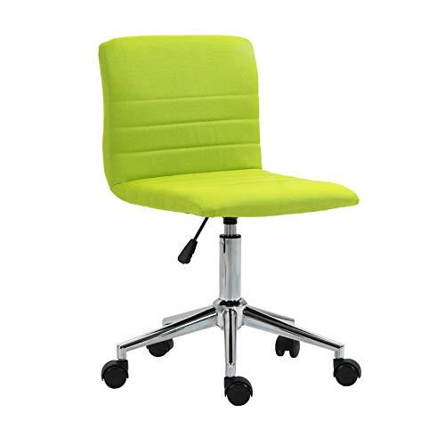 SVITA Linus Schreibtischstuhl Kinder Drehstuhl Stoffbezug Grün