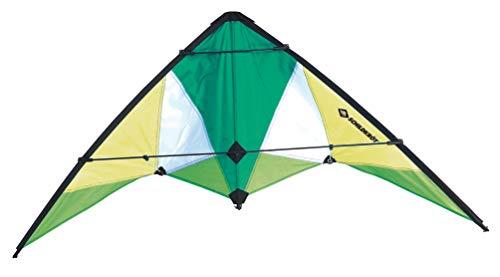 Schildkröt 991057 Stunt Kite, verschiedene Größen wählbar, Zweileiner Lenkdrache, ab 10 Jahren, inkl....