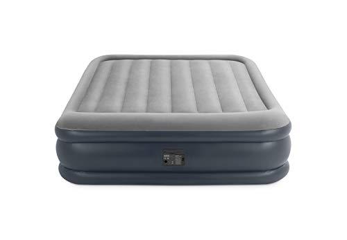 Intex Deluxe Pillow Rest Raised Luftbett - Queen - 152 x 203 x 42 cm - Mit eingebaute elektrische Pumpe,...