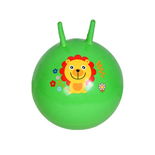 BESPORTBLE Hüpfball Kinder mit Haltegriff für Drinnen Draußen Sprungball Spaßball Hüpftier...