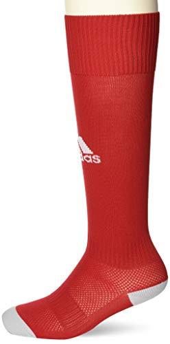 Adidas Unisex Kinder Milano 16 Socken, Power Rot/Weiß, 4.5-6 UK (37-39 EU)