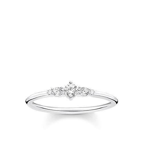 THOMAS SABO Damen Ring Vintage 925 Sterlingsilber TR2324-051-14