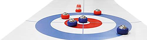Noris 606101717 - Tisch Curling, mit ausrollbarer Curling Matte für weiteren Spielspaß auch unterwegs,...