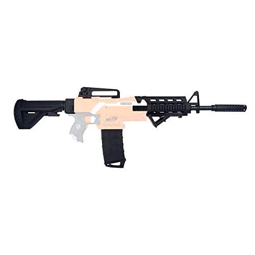 Blasterparts Mod Upgrade Kit passend für NERF N-Strike Elite Stryfe: M4 Body Kit - 13-teiliges Set -...