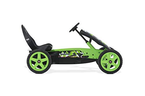 Berg Gokart Rally Force   Kinderfahrzeug, Tretauto mit Verstellbarer Sitz, Mit Feilauf, Kinderspielzeug...