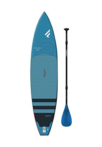 Fanatic Ray Air 12';6'aufblasbares SUP Stand Up Paddle Boarding Paket - Board, Tasche, Pumpe & Paddel -...