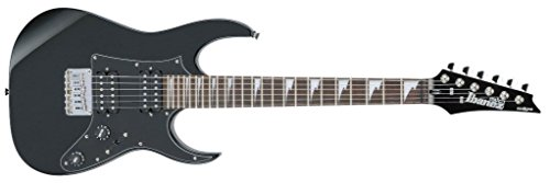 Ibanez GRGM21GB-BKN Mikro E-Gitarre in Black Night inklusive Microbag