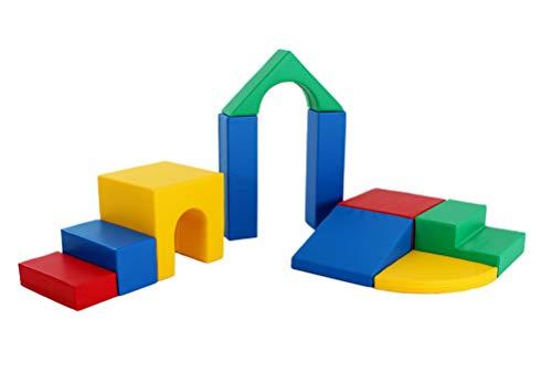 Klettergymnastik-Bausteine zum Klettern, Rutschen und Krabbeln