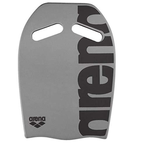 arena Unisex Schwimmbrett Kickboard als Schwimmhilfe oder zum Kraft- und Techniktraining), Silver (50),...