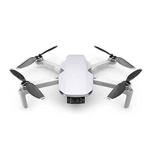 DJI Mavic Mini – Drohne, leicht und tragbar, Flugzeit: 30 Min, Übertragungsentfernung: 2 km...