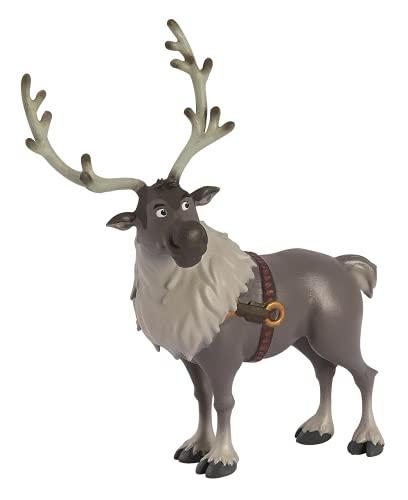 Bullyland 13514 - Spielfigur, Disney Die Eiskönigin - Frozen, Rentier Sven, ca. 12 cm, ideal als...