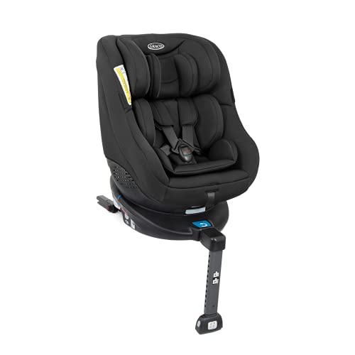 Graco Turn2Me Reboarder Kindersitz mit Isofix, 360 Grad drehbarer Autositz für Kinder von 0-4 Jahre,...
