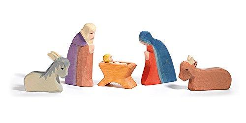 Ostheimer Krippenfiguren Heilige Familie
