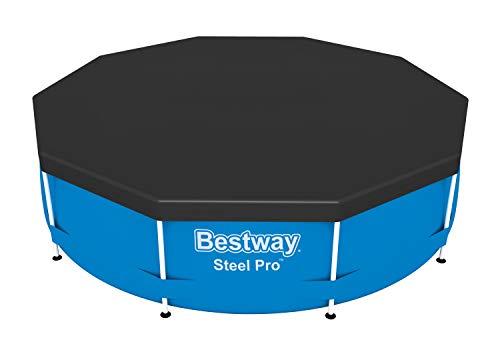 Bestway 58036 Abdeckplane für Frame Pool, Durchmesser 305 cm