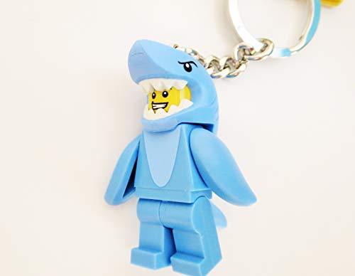 LEGO Schlüsselanhänger - Männchen im Haikostüm - ab 6 Jahren