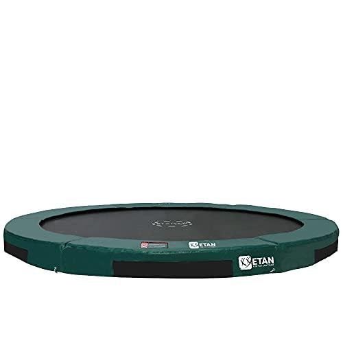 Etan Hi-Flyer Outdoor Boden Trampolin - Inground Gartentrampolin mit UV-beständiger Randabdeckung mit...
