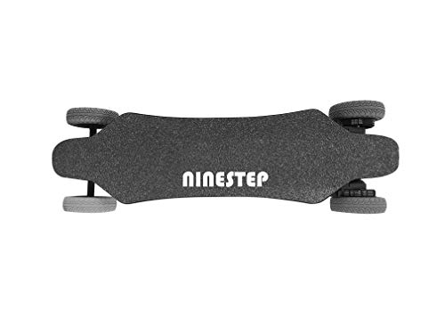 Ninestep 40 km/h Dual-Motor 2000W Hochwertiges Elektro Longboard Offroad 6.6Ah elektrisches Skateboard...