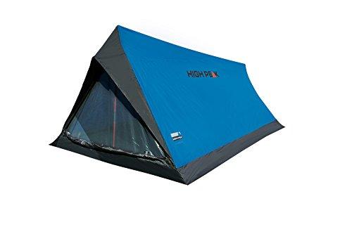 High Peak Hauszelt Minilite, Campingzelt für 2 Personen, Leichtgewicht 1,0 kg, kleines Packmaß, 1500 mm...