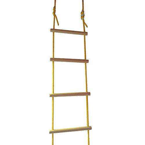 NiroSport Strickleiter für Kinder und Erwachsene bis 80 kg, für Outdoor und Indoor, TÜV geprüft, Made...