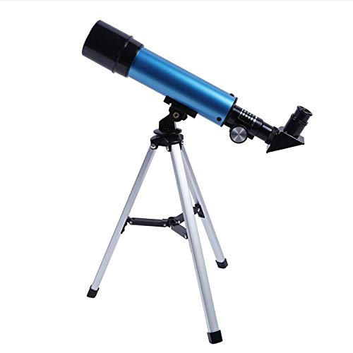 Teleskop für Kinder 90X HD Refraktor Einsteiger Teleskop mit Verstellbarem Stativ für Erwachsene und...