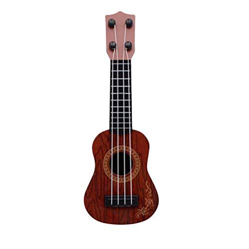 Allegorly Toy Ukulele Kleine Gitarrenmodelle Kinderspielzeug Gitarre Musikinstrument Geeignete Ukulele...