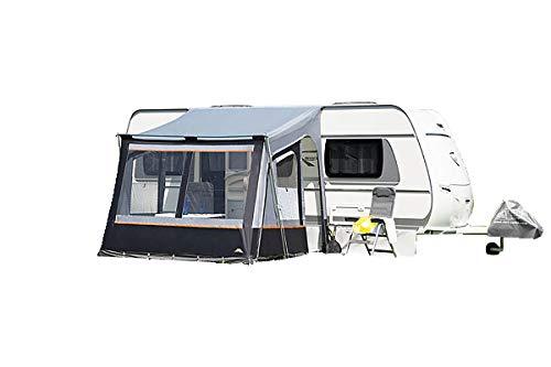 dwt vorzelt Wohnwagen Fortuna II 250 x 280cm grau Reisezelt Camping Wohnwagenvorzelt Zelt Caravan...