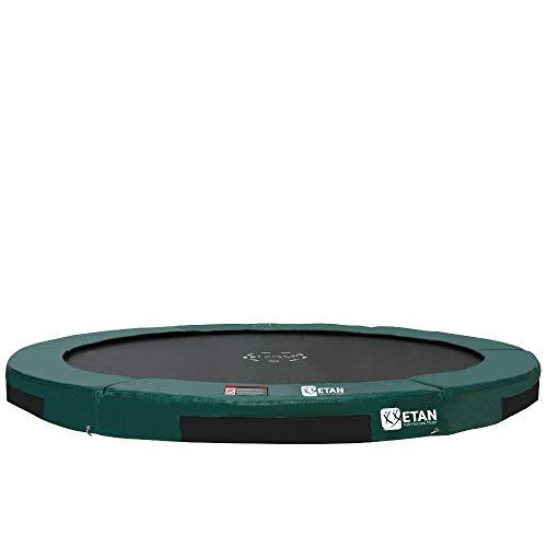 Etan Hi-Flyer Outdoor Boden Trampolin - Inground Gartentrampolin mit UV-beständiges Randabdeckung mit...