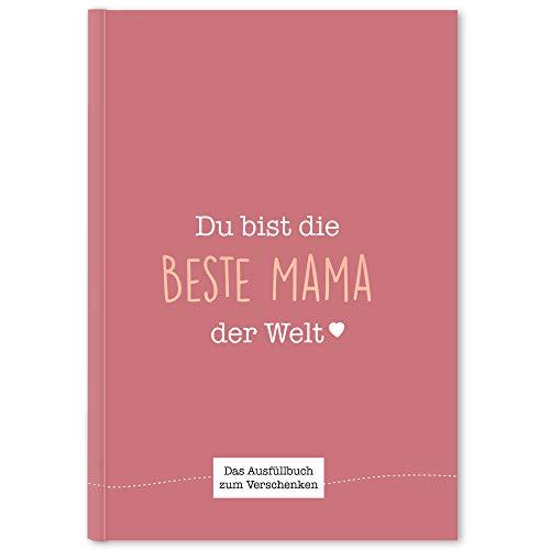 CUPCAKES & KISSES® Mama Buch zum Ausfüllen I Muttertagsgeschenk I Geschenkidee für die Mama I Geschenk...