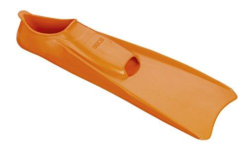 Beco Unisex– Erwachsene Silikon Kurzflossen-9910 Kurzflosse, orange, 38/39