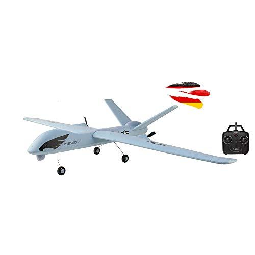 HSP Himoto 2.4GHz RC ferngesteuertes Trainer Flugzeug Flieger Glider, Optimal für Anfänger, Inkl. viel...