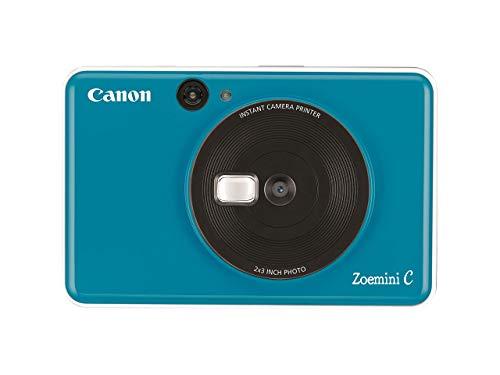 Canon Zoemini C Sofortbildkamera digital 5 MP (Sofortdruck, Sucher, Blitzlicht, Micro SD Kartenslot,...