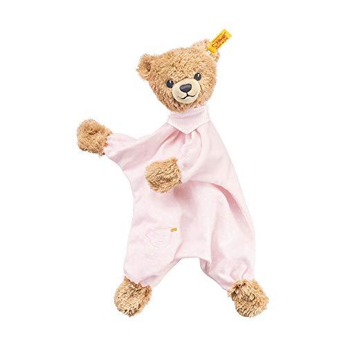 Steiff Schlaf - gut - Bär Schmusetuch - 30 cm - Teddybär mit Kleid - Kuscheltier für Babys - weich &...