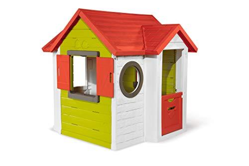 Smoby - Mein Neo Haus - Spielhaus für Kinder für drinnen und draußen, erweiterbar durch Zubehör,...