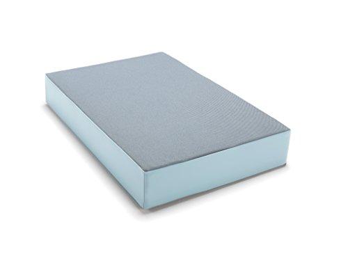traturio Hüpfmatratze in tollen Farben für alle kleinen Hüpfer 107x70x17 cm Jeansblau/eisblau