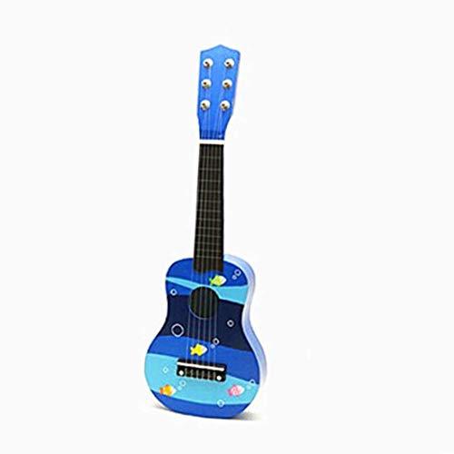 Dirgee Leichte Holz 6 String Mini Gitarre Kinder Musikinstrumente Spielzeug for Geburtstagsgeschenke und...