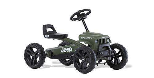BERG Gokart Buzzy JEEP Sahara   Kinderfahrzeug, Tretauto, Sicherheid und Stabilität, Kinderspielzeug...